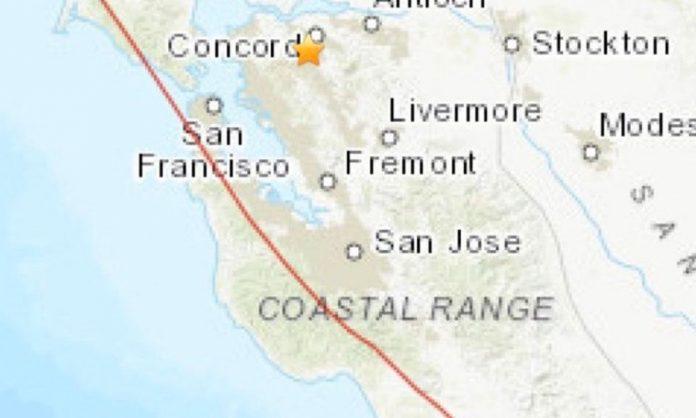 Tiembla California tras sismo de 4.7 grados