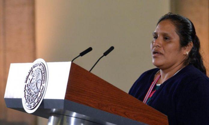 Obtilia Eugenio Manuel recibe Premio Nacional de Derechos Humanos 2019