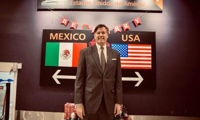 México y Estados Unidos no son seguros sin que el otro lo sea: Landau